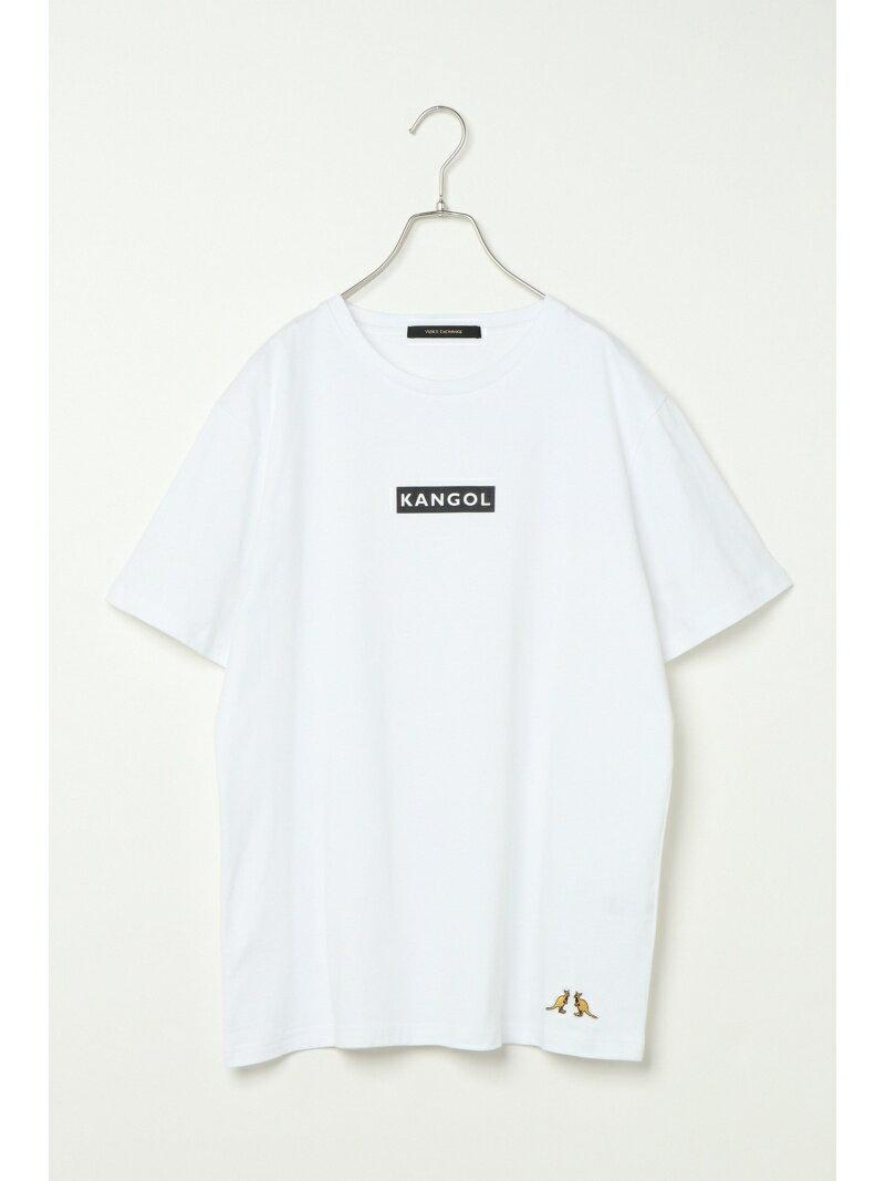 VENCE share style MENs カンゴール BOXプリントTシャツ ヴァンス エクスチェンジ カットソー【送料無料】