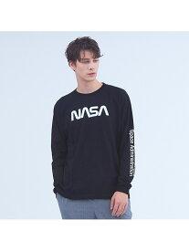 【SALE/40%OFF】ABAHOUSE LASTWORD 【NASA】ワームロゴTシャツ アバハウス カットソー【RBA_S】【RBA_E】【送料無料】