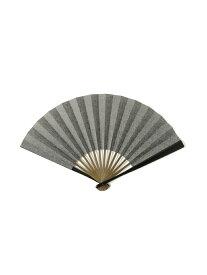 3.14 × BEAMS JAPAN / 別注 江戸小紋 型紙 扇子 ビームス ジャパン ビームス ジャパン 生活雑貨【送料無料】