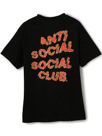 【SALE/20%OFF】LHP AntiSocialSocialClub/アンチソーシャルソーシャルクラブ/MANIAC TEE エルエイチピー カットソー Tシャツ ブラック ホワイト【RBA_E】【送料無料】