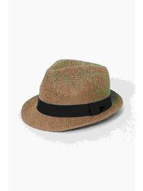 【SALE/56%OFF】メッシュ編み中折れハット イッカ 帽子/ヘア小物【RBA_S】【RBA_E】