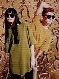 【SALE/50%OFF】GDC BIG TEE ジーディーシー カットソー Tシャツ グリーン ブラック オレンジ ホワイト イエロー【RBA_E】【送料無料】