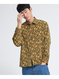 tk.TAKEO KIKUCHI ランダムダイヤプリントシャツ ティーケータケオキクチ シャツ/ブラウス【送料無料】