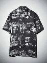 LOVELESS 【予約販売】森山大道×LOVELESSグラフィックシャツ ラブレス シャツ/ブラウス 長袖シャツ ブラック【送料無…