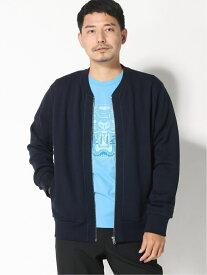 KENZO (M)Shibori Tiger Bomber M ケンゾー コート/ジャケット ブルゾン ネイビー【送料無料】
