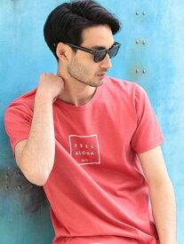 RATTLE TRAP Lilly&Emma別注プリントTシャツ メンズ ビギ カットソー Tシャツ ピンク ホワイト ネイビー グレー グリーン ブラック【送料無料】