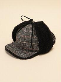 Sense of Grace SENSE OF GRACE/(U)SOG SHERLOKIAN CAP HOT ゴースローキャラバン 帽子/ヘア小物 キャップ ブラック ブラウン【送料無料】