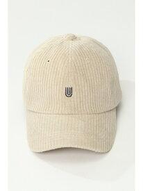 ikka UNIVERSALOVERALLユニバーサルオーバーオールスエードコールキャップ イッカ 帽子/ヘア小物