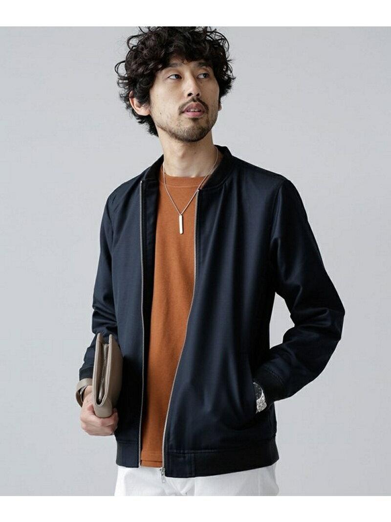 T/Rイージーブルゾン ナノユニバース コート/ジャケット【送料無料】
