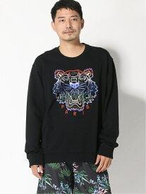 KENZO タイガースウェットシャツ ケンゾー カットソー スウェット ブラック【送料無料】