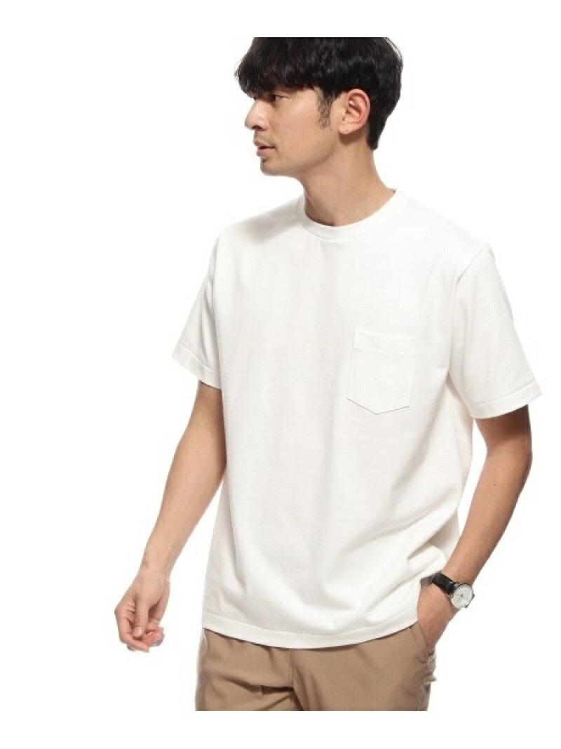 BASE CONTROL 【WEB限定】MADE IN JAPAN /SUKENAI 白Tシャツ ベース ステーション カットソー