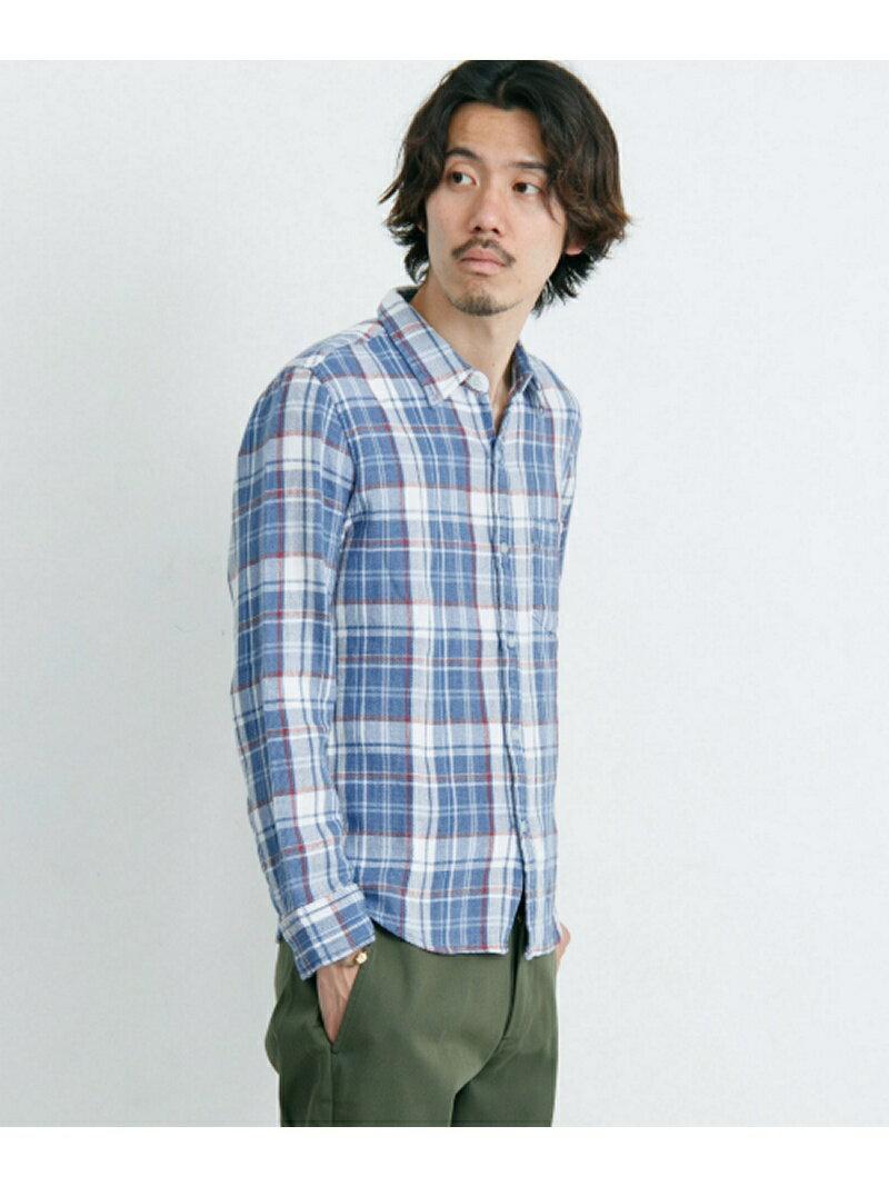 【SALE/60%OFF】Sonny Label インディゴチェックシャツ サニーレーベル シャツ/ブラウス【RBA_S】【RBA_E】