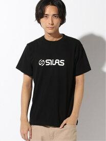 【SALE/30%OFF】SILAS SS TEE OLD LOGO サイラス カットソー Tシャツ ブラック ブルー レッド ホワイト【RBA_E】