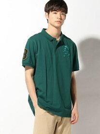 【SALE/15%OFF】GIORDANO (M)3Dライオンポロシャツ ジョルダーノ カットソー【RBA_S】【RBA_E】