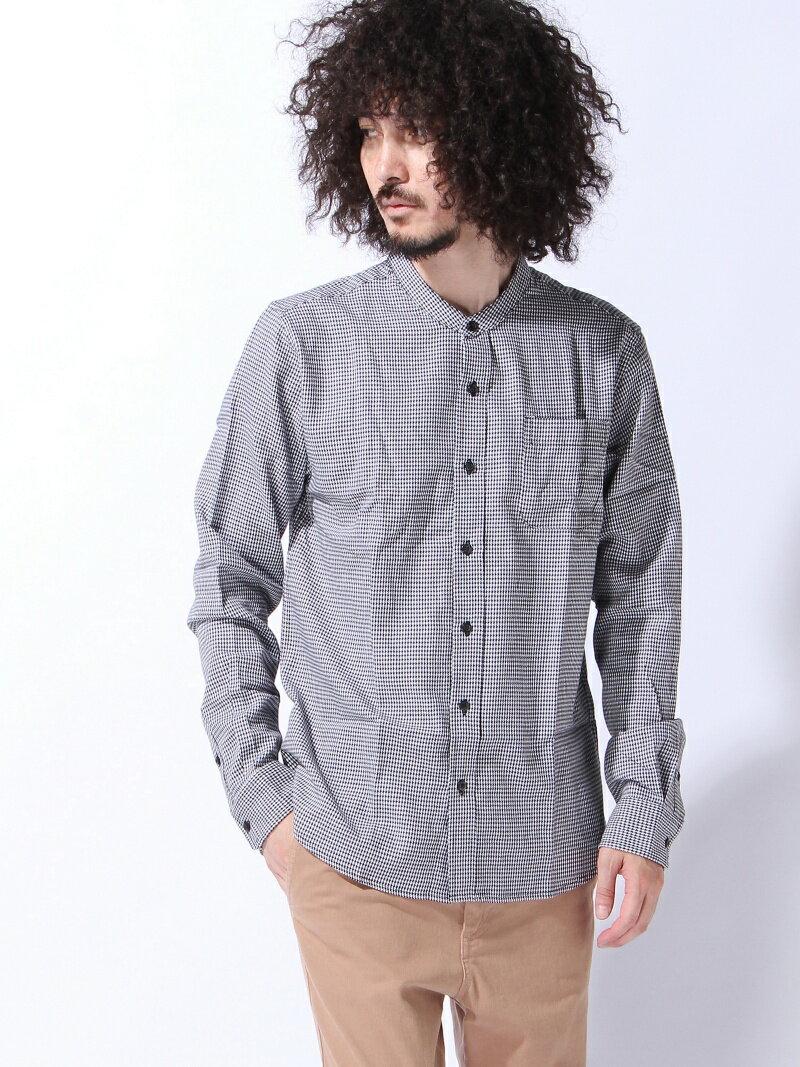 ZIP FIVE (M)ZIP FIVE ブロードバンドカラー長袖シャツ ジップファイブ シャツ/ブラウス