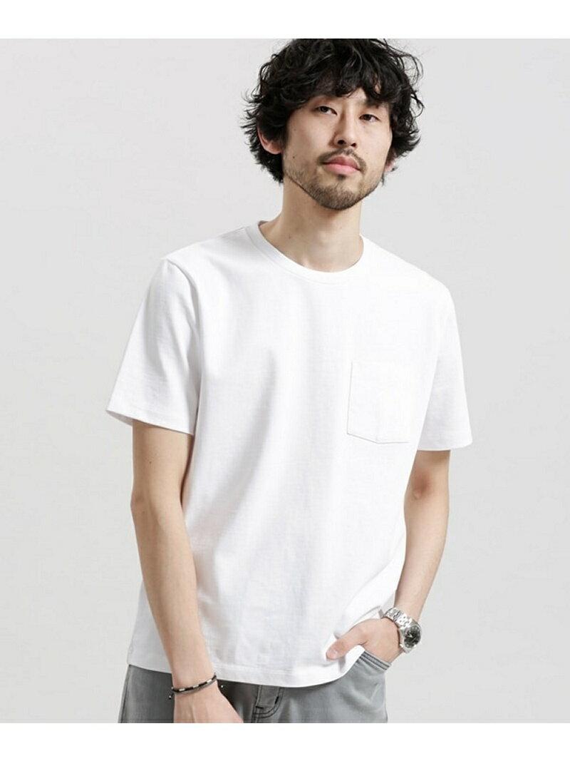 【SALE/30%OFF】nano・universe ポケット付きBig Tシャツ ナノユニバース カットソー【RBA_S】【RBA_E】