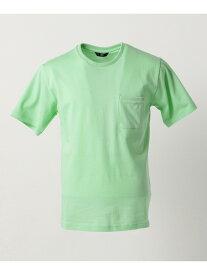 【SALE/50%OFF】23区 Palecolor Tシャツ ニジュウサンク オム カットソー Tシャツ グリーン ホワイト ピンク ブルー【RBA_E】【送料無料】