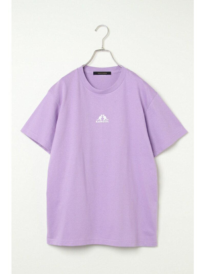 VENCE share style MENs 【別注】KANGOL カンゴール プリントTシャツ ヴァンス エクスチェンジ カットソー【送料無料】