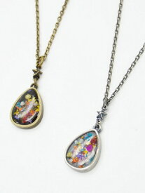 rehacer Flower Tear Drop Necklace レアセル アクセサリー【送料無料】