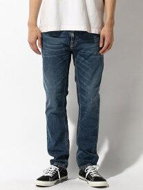 nudie jeans nudie jeans/(M)Thin Finn ヌーディージーンズ / フランクリンアンドマーシャル パンツ/ジーンズ サロペット/オールインワン ブルー【送料無料】