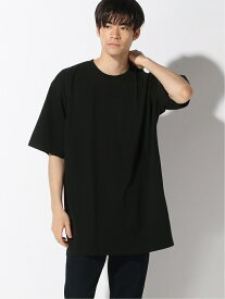 ADPOSION ADPOSION/(M)【NUMBER (N)INE DENIM】オーバーサイズバックロゴTシャツ ビッグシルエット テットオム カットソー Tシャツ ブラック ホワイト【送料無料】