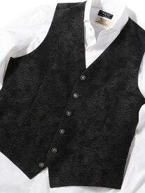 MEN'S BIGI 【Leggiuno(レジウノ)社】ドレスベスト メンズ ビギ コート/ジャケット ベスト ブラック【送料無料】