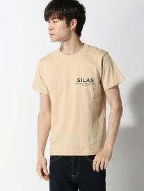 SILAS SS TEE BIRTHPLACE サイラス カットソー Tシャツ ベージュ ブラック グリーン ネイビー ホワイト イエロー【送料無料】