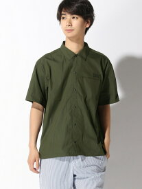 BAYFLOW (M)EVLS/ゴウセンCT SH ベイフロー シャツ/ブラウス 半袖シャツ カーキ ブラック