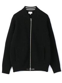 MEN'S BIGI 変形ワッフルMA-1 メンズ ビギ コート/ジャケット ベスト ブラック【送料無料】