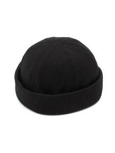 ANTIQULOTHES (M)ワッフルロールキャップ アンティクローズ 帽子/ヘア小物 キャップ ブラック ネイビー