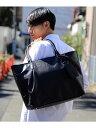 tk.TAKEO KIKUCHI 【WEB限定】レザー調トートバッグ ティーケータケオキクチ【送料無料】
