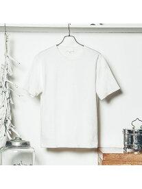【SALE/40%OFF】ABAHOUSE LASTWORD ジャカードクルーネックTシャツ アバハウス カットソー【RBA_S】【RBA_E】【送料無料】