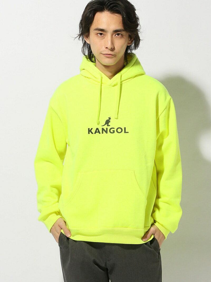 (M)KANGOL別注起毛ビッグプルパーカー ウィゴー カットソー【送料無料】