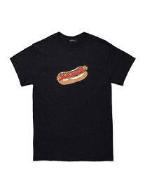 24karats 24karats/(M)Hot Dog Tee SS バーチカルガレージ カットソー Tシャツ ブラック ホワイト【送料無料】