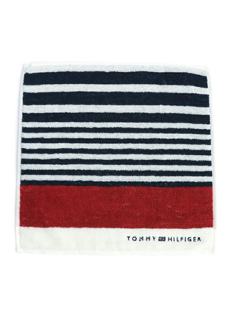 TOMMY HILFIGER (M)マルチボーダーハンドタオル トミーヒルフィガー ファッショングッズ