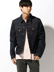 【SALE/40%OFF】nudie jeans nudie jeans/(M)Kenny ヌーディージーンズ / フランクリンアンドマーシャル コート/ジャケット デニムジャケット ネイビー【RBA_E】【送料無料】