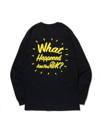 24karats 24karats/(M)Good Will Tee LS バーチカルガレージ カットソー Tシャツ ブラック ホワイト【送料無料】