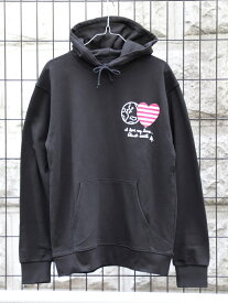 BEAMS T 【SPECIAL PRICE】BEAMS T / Heart & Earth Sweat Hoody ビームスT カットソー スウェット ブラック グレー【送料無料】