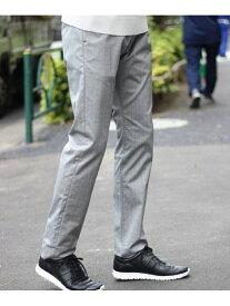 MEN'S BIGI 高橋克典さん着用 ヘリンボーンストレッチパンツ メンズ ビギ パンツ/ジーンズ フルレングス グレー ベージュ ネイビー ブラウン ブルー レッド ブラック【送料無料】