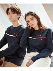 TOMMY HILFIGER TOMMY HILFIGER(トミーヒルフィガー) トミーヒルフィガー ロゴ ロング Tシャツ / TINO TEE L/S ロゴ Tee カットソー 長袖 Tシャツ メンズ トミーヒルフィガー カットソー Uネックカ【送料無料】