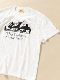 【SALE/25%OFF】SHIPS KELTY: SHIPS別注 マウンテン プリント Tシャツ シップス カットソー Tシャツ ホワイト ブラック グリーン【RBA_E】