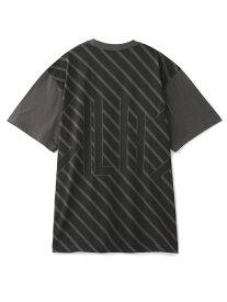 SILAS SS TEE DIAGONAL LOGO サイラス カットソー Tシャツ ブラック グリーン カーキ ホワイト