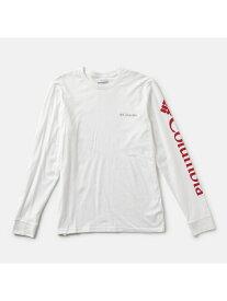 Columbia コロンビアロッジLSグラフィックTシャツ コロンビア カットソー Tシャツ ホワイト ブラック ネイビー【送料無料】