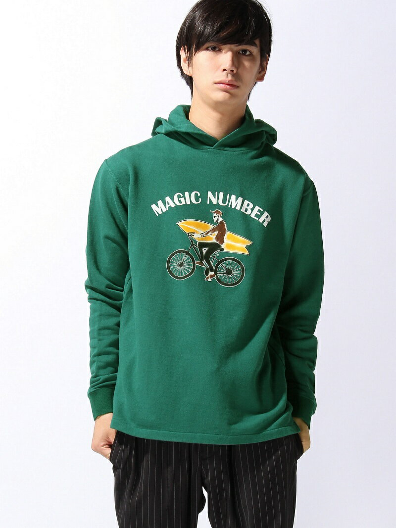 MAGIC NUMBER CYCLE BOY HOODIE マジックナンバー カットソー【送料無料】