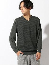 Munsingwear (M)セーター/カーデイガン マンシングウェア ニット 長袖ニット グレー ネイビー グリーン レッド【送料無料】