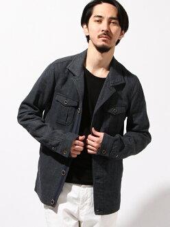 NICOLE CLUB FOR MEN M-65設計BL尼科爾俱樂部四人大衣/茄克