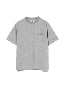 【SALE/50%OFF】koe Men's ポンチ折り返し袖TEE コエ カットソー Uネックカットソー グレー ブラック ブラウン【RBA_E】