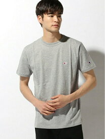 SPENDY'S Store 〈Champion〉ワンポイントTシャツ スペンディーズストア カットソー Tシャツ イエロー ベージュ ブルー ネイビー ピンク ブラック ホワイト レッド グレー グリーン