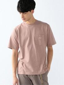 B:MING by BEAMS DANTON × B:MING by BEAMS / 別注 オーバーシルエット ポケットTシャツ BEAMS ビームス ビーミング ライフストア バイ ビームス カットソー Tシャツ ピンク グレー ホワイト【送料無料】