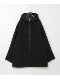 ikka メルトンZIPフードロング イッカ その他 福袋 ブラック【送料無料】